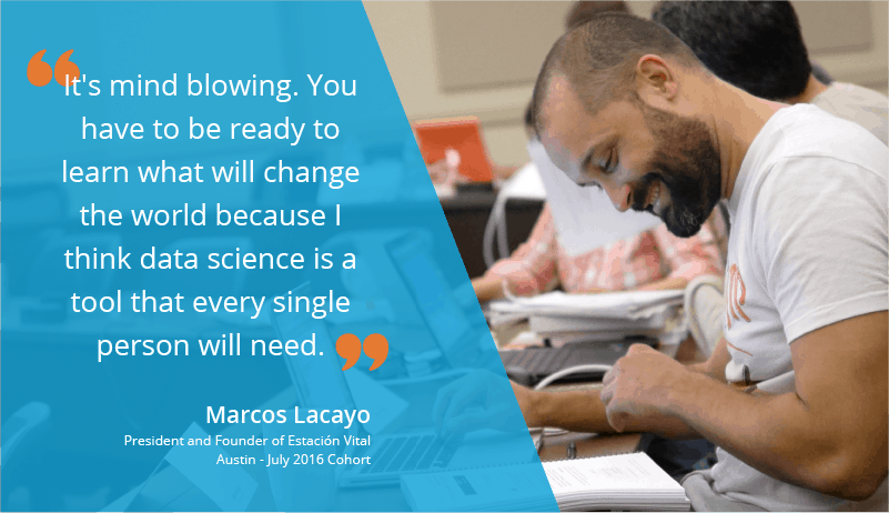 Data Science Training Review by Marcos Lacayo